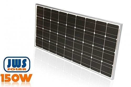 150watt solarpanel 12 volt monokristallin alles f r garten. Black Bedroom Furniture Sets. Home Design Ideas