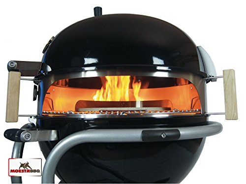 weber pizzaofen f 57er kugelgrills kleinster mobiler gasgrill. Black Bedroom Furniture Sets. Home Design Ideas