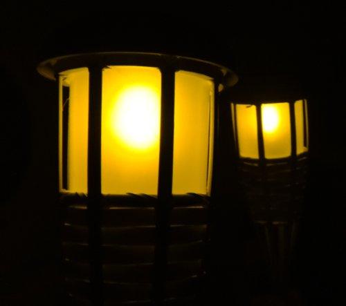 2er set 2 x tikki solar fackel garten solarfackel lampe. Black Bedroom Furniture Sets. Home Design Ideas