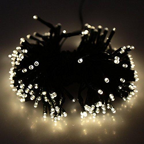 Dodocool neu 200led solar strahler wasserdicht led leuchten licht lichterkette f r - Licht fur garten ...