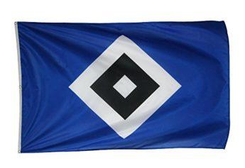 hsv flagge schrebergarten karabinerhaken fahne ca 120 x. Black Bedroom Furniture Sets. Home Design Ideas
