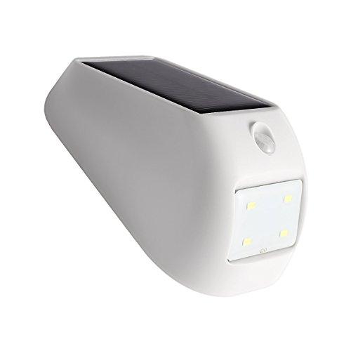 le 1w led solarleuchten mit bewegungsmelder wasserdicht kabelloses nachtlicht 160lm led. Black Bedroom Furniture Sets. Home Design Ideas
