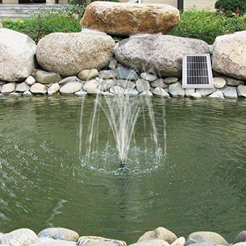 Neu Solar Teichpumpe Garten Brunnen Oasis 250 1 Leistungsoptimierte