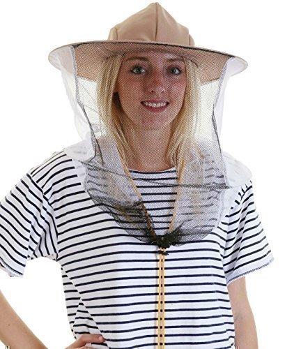 neue Version zum halben Preis neu billig Imker Hut mit Schleier – Doppelter Reifen und Knebelknopf