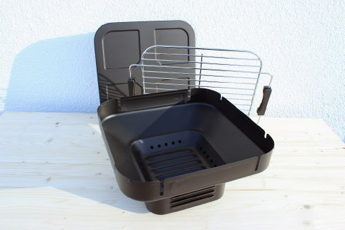 tischgrill holzkohle camping grill klappgrill schwarz alles f r garten. Black Bedroom Furniture Sets. Home Design Ideas