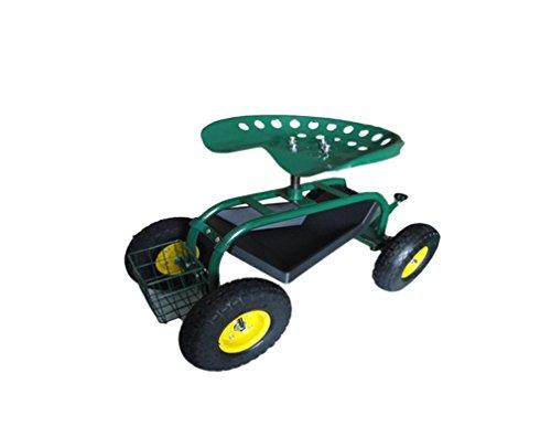 Gartenwagen Rollwagen Gartenhelfer Fahrbarer Gartensitz Scooter
