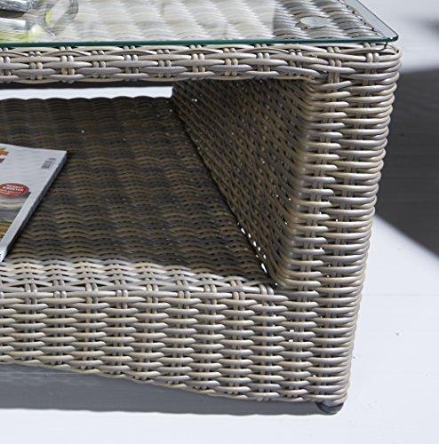 hochwertige polyrattan sitzgruppe 4 tlg inkl kissen gestell aus alu rattan luxus gartenset. Black Bedroom Furniture Sets. Home Design Ideas