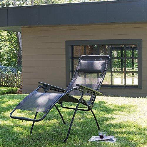 lafuma lfm3062 6456 relax liegestuhl klappbar und. Black Bedroom Furniture Sets. Home Design Ideas