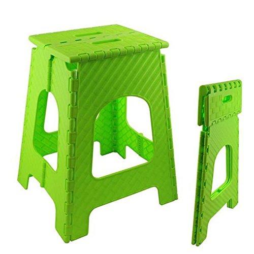 lantelme klapphocker hocker aus kunststoff farbe gr n wetterfest f r haushalt garten und. Black Bedroom Furniture Sets. Home Design Ideas