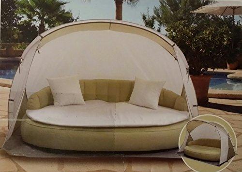 sonneninsel mit strandmuschel airlounge aufblasbare. Black Bedroom Furniture Sets. Home Design Ideas