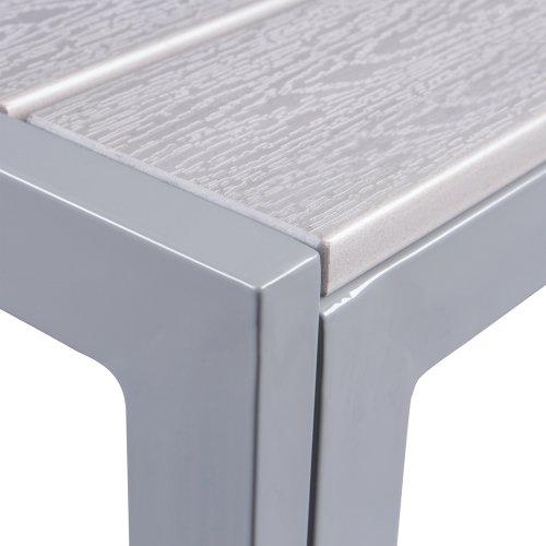 Vanage Esstische Polywood Alu Gartentisch Mit Aluminiumgestell 150 X