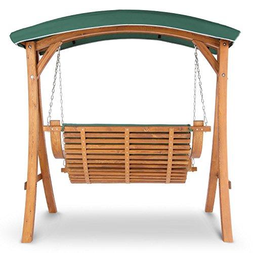 Gut bekannt Blumfeldt Tahiti 2-Sitzer Garten-Schaukel Holz Hollywoodschaukel TW92